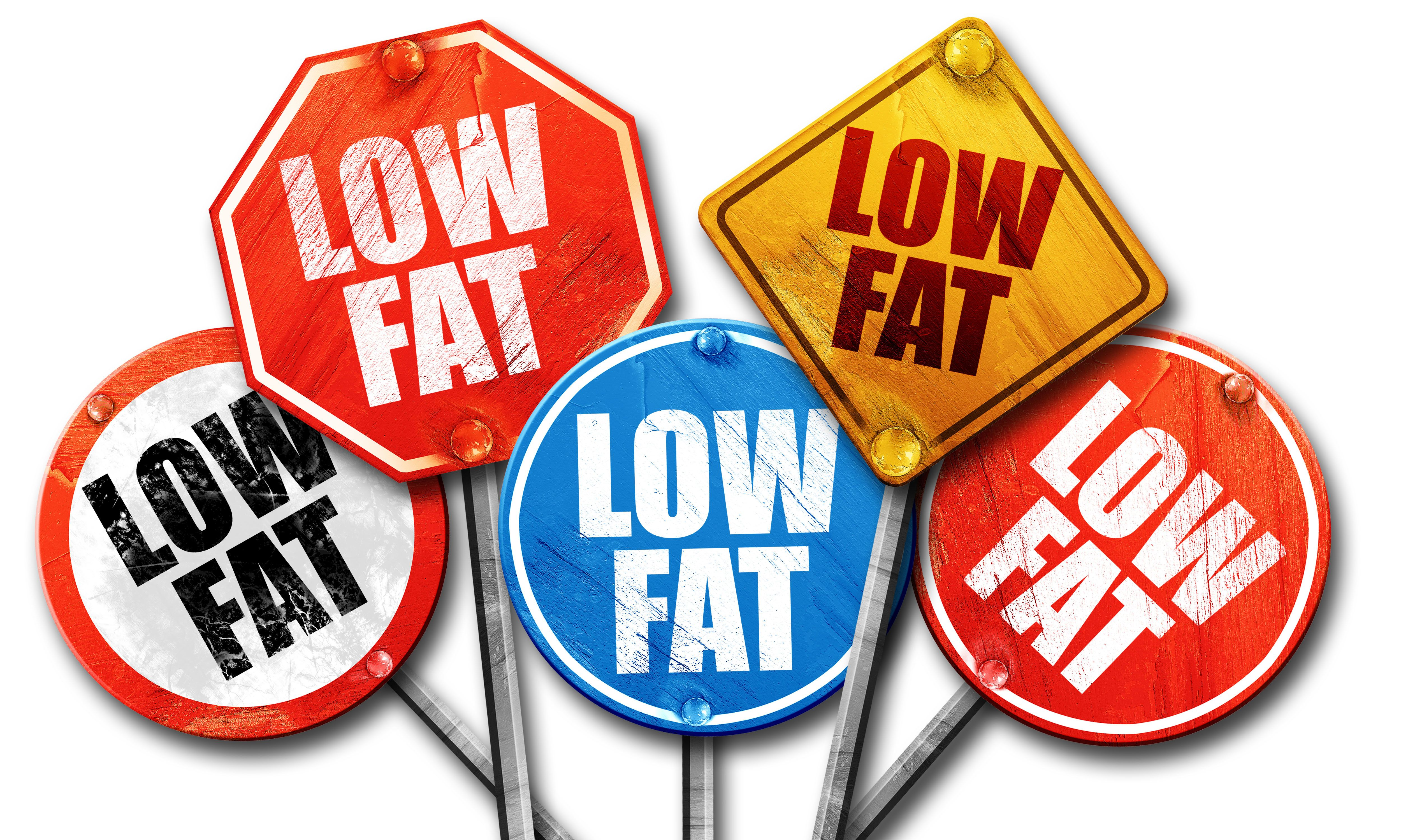Ditch the Low or no Fat Habit