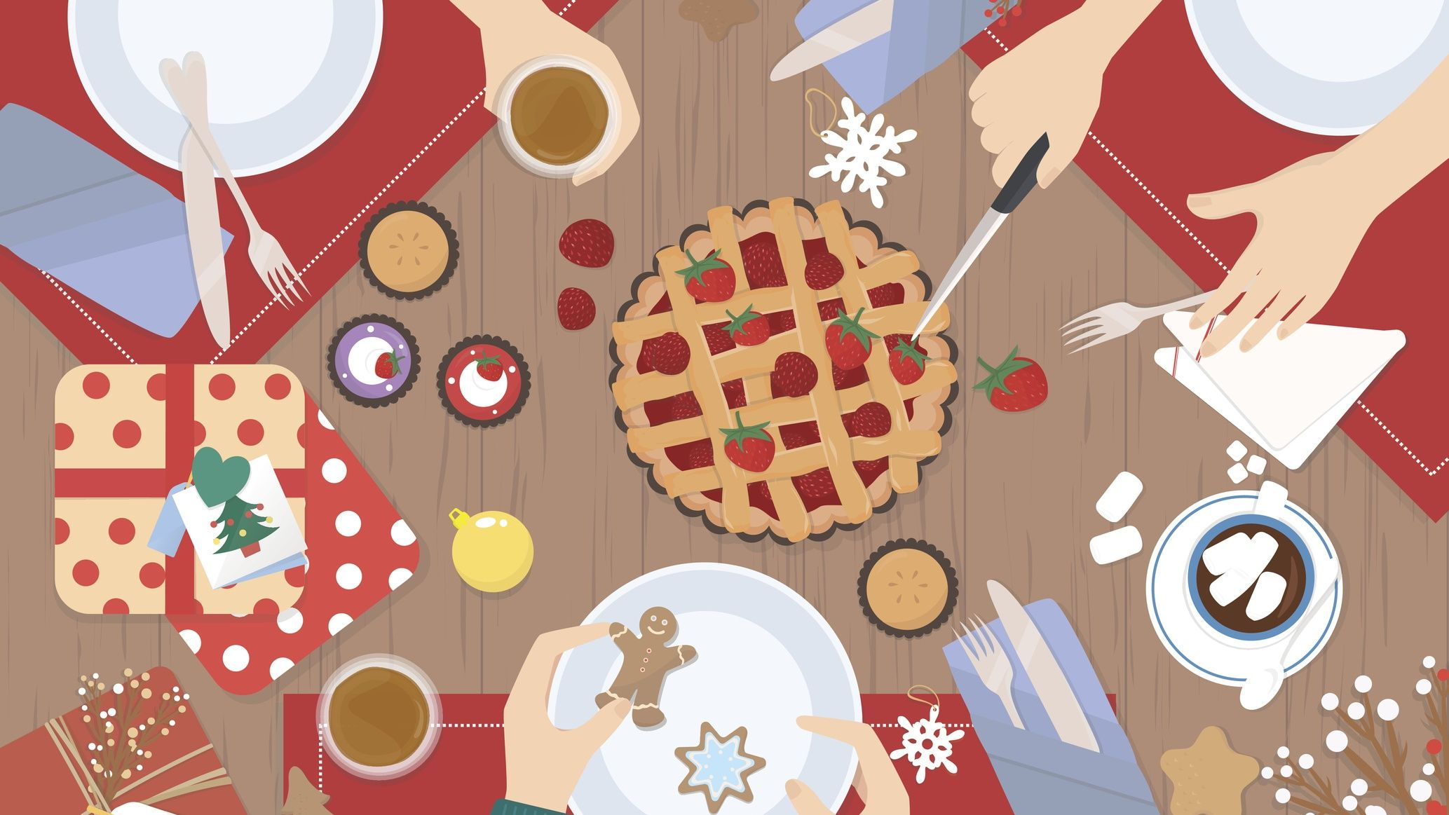 How not to overeat on Christmas Day - as told by a dietitian